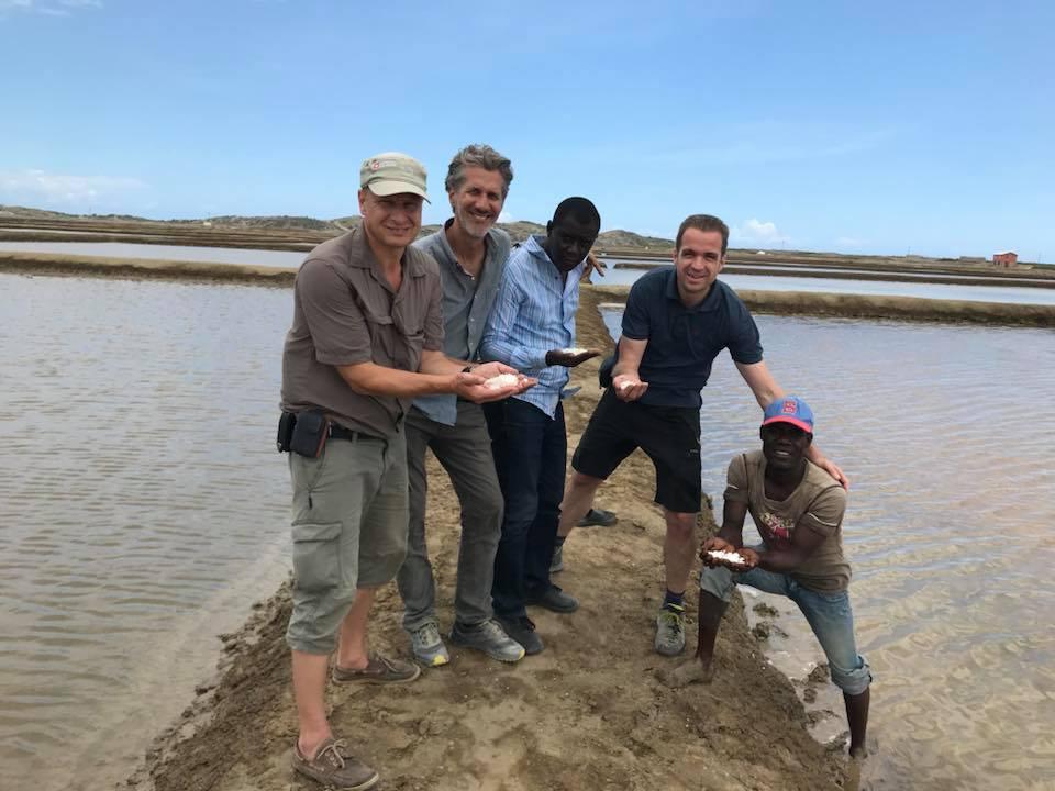 Besuch bei der Salzgewinnungsanlage in Anse Rouge